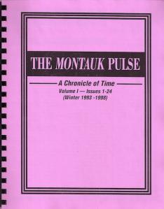THE MONTAUK PULSE VOLUME 1 (1993-1998)